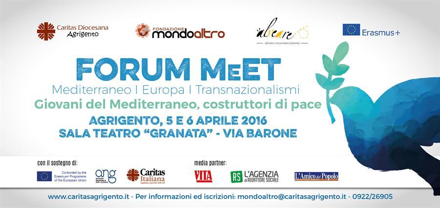 Rondine al Forum MeEt ad Agrigento