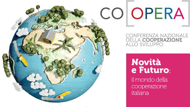 Rondine interviene alla Conferenza Co[opera] Conferenza Nazionale della Cooperazione allo Sviluppo