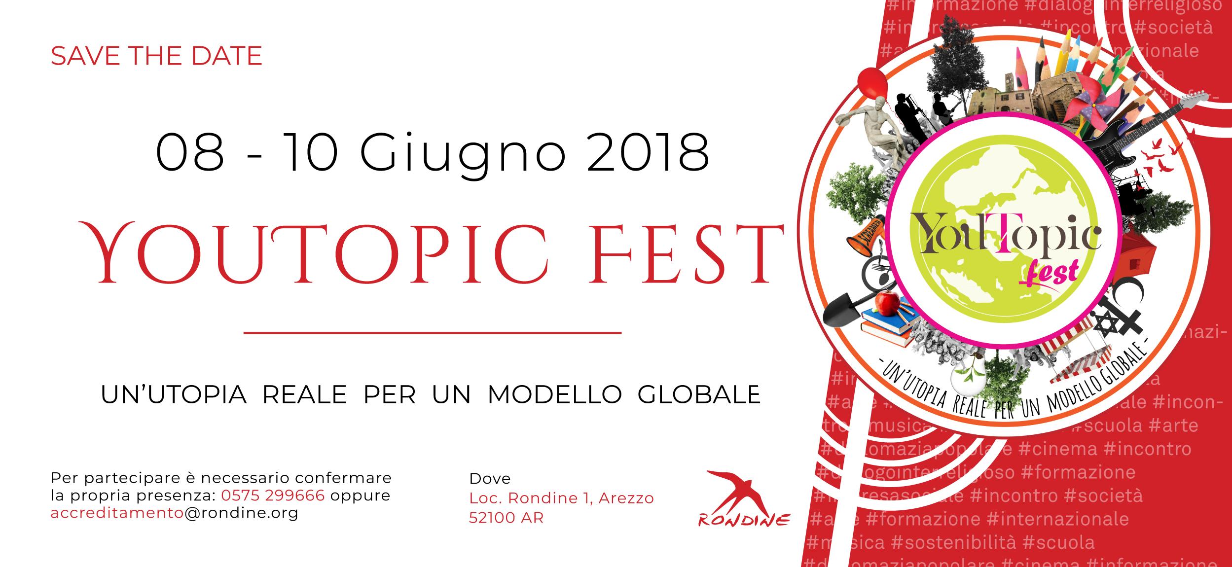 YouTopic Fest, a Rondine la terza edizione del Festival sui temi del conflitto