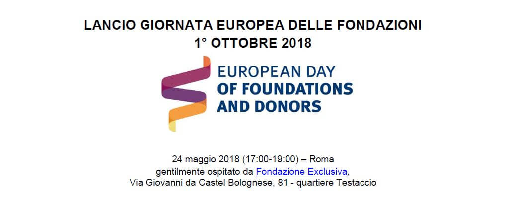Save the date: prossime iniziative di Assifero