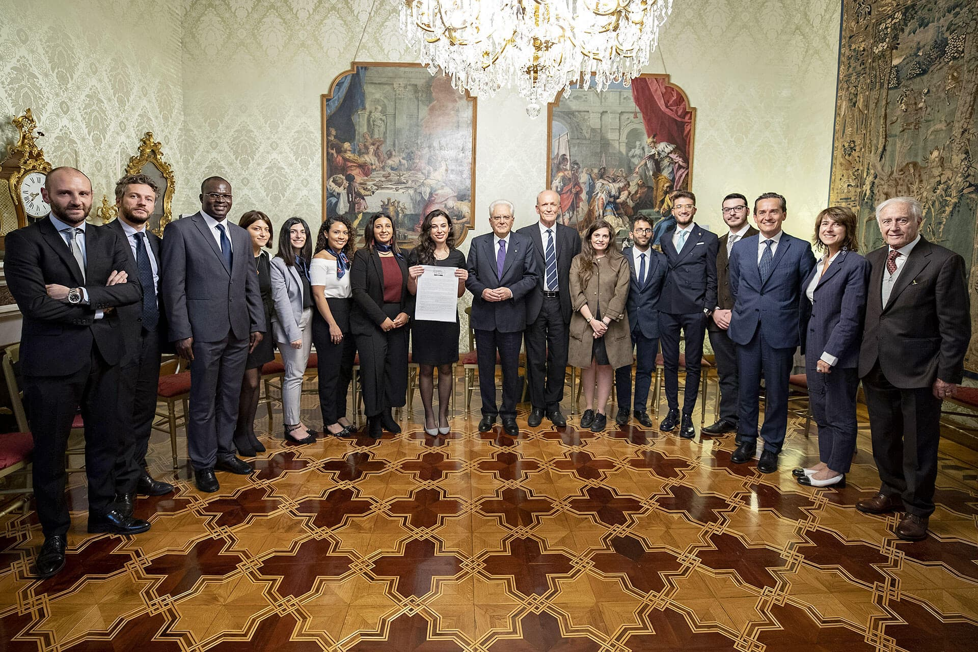 Rondine meets president Mattarella: the first Head of State receiving the appeal to be presented at the United Nations