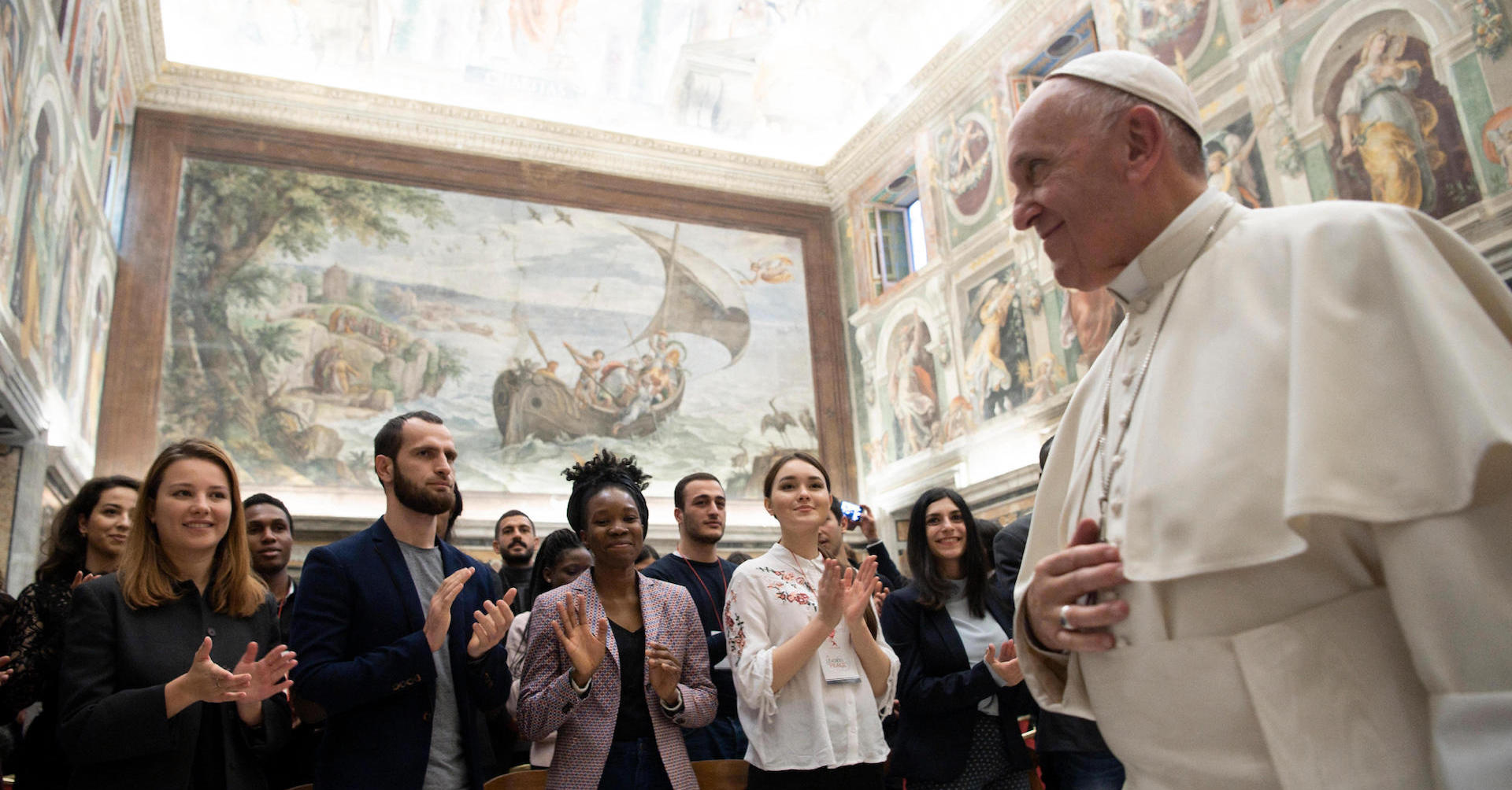 "Pope Francis to world leaders: ""Go to Rondine, where young people are preparing peace"""