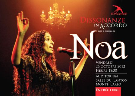 """Dissonanze in accordo"" with Noa"