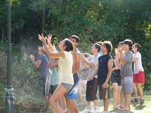 """Together to build a future of peace"": Rondine's summer camp."