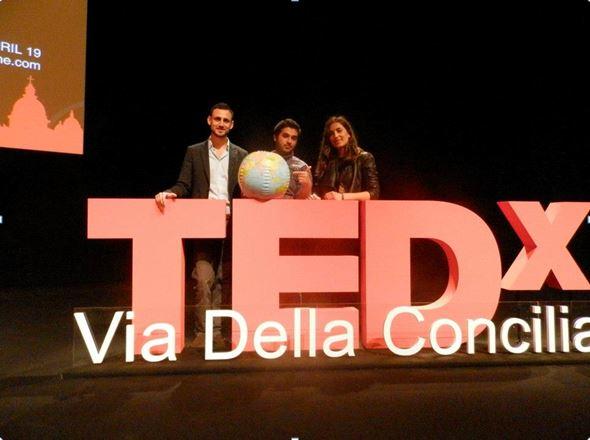 Rondine, protagonist of TEDx Via della Conciliazione