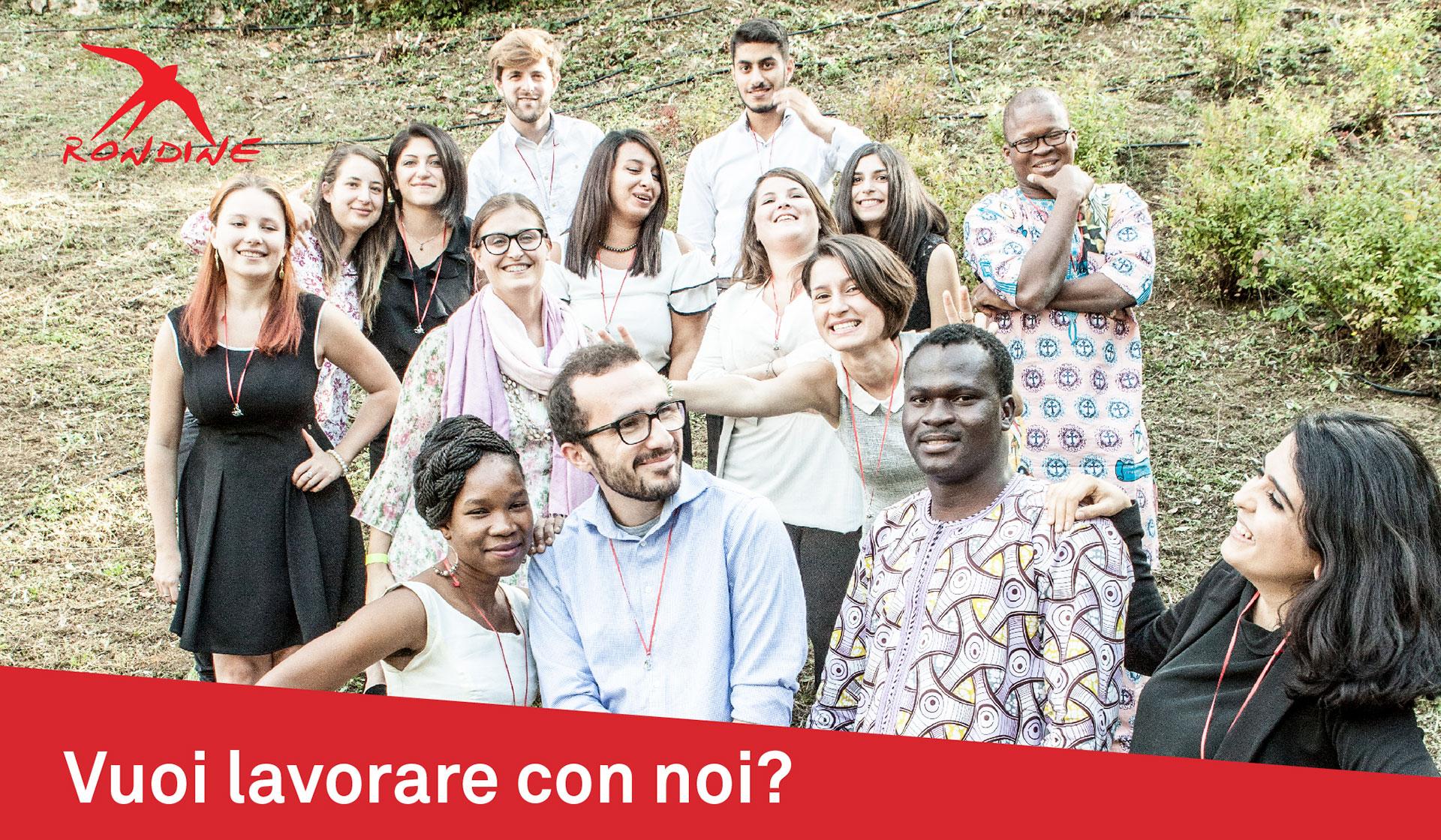 Vuoi lavorare con noi? Aperte tre posizioni professionali a Rondine