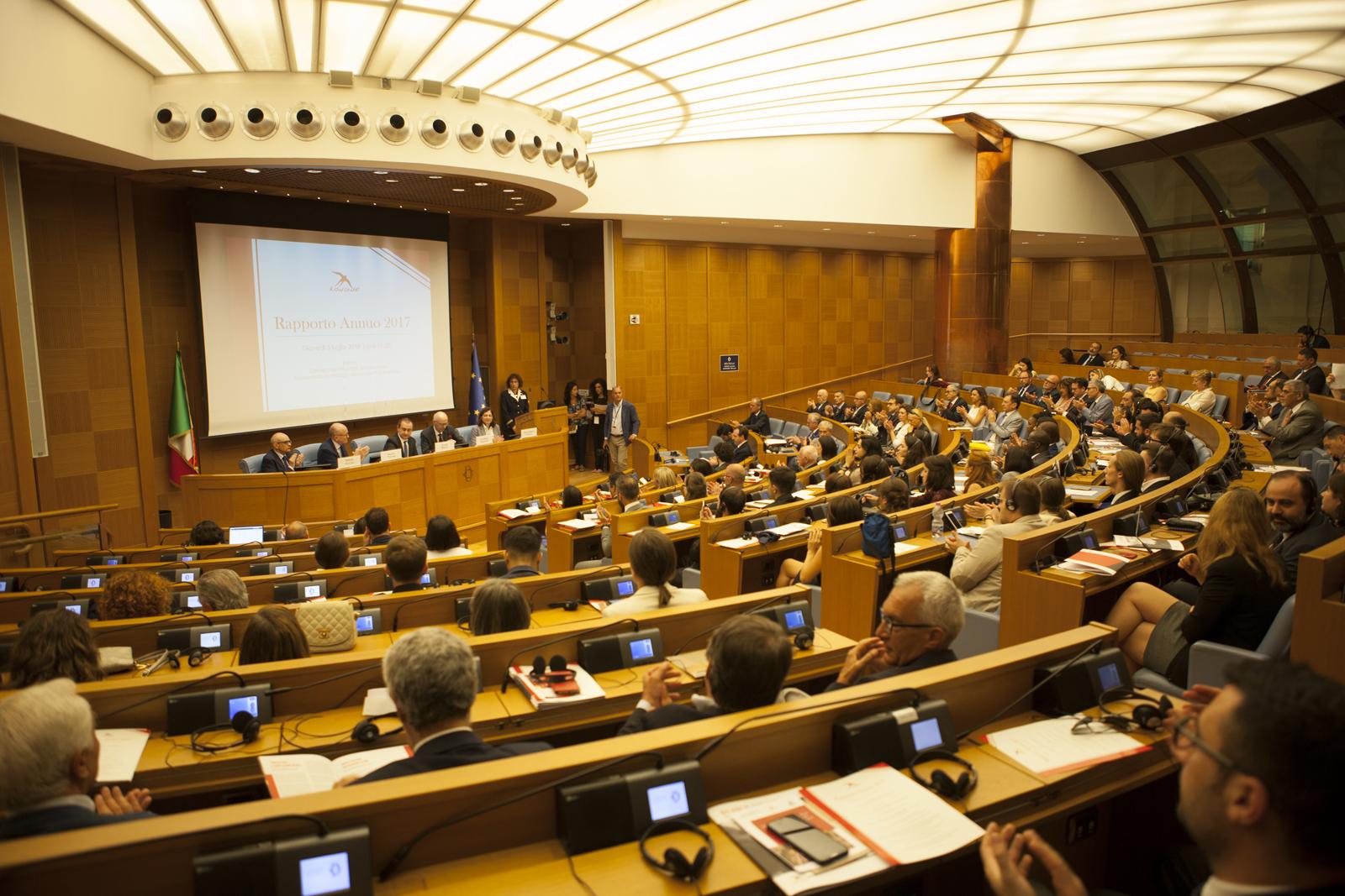 Rapporto Annuo 2018, al Senato della Repubblica un primo bilancio della campagna globale Leaders for Peace