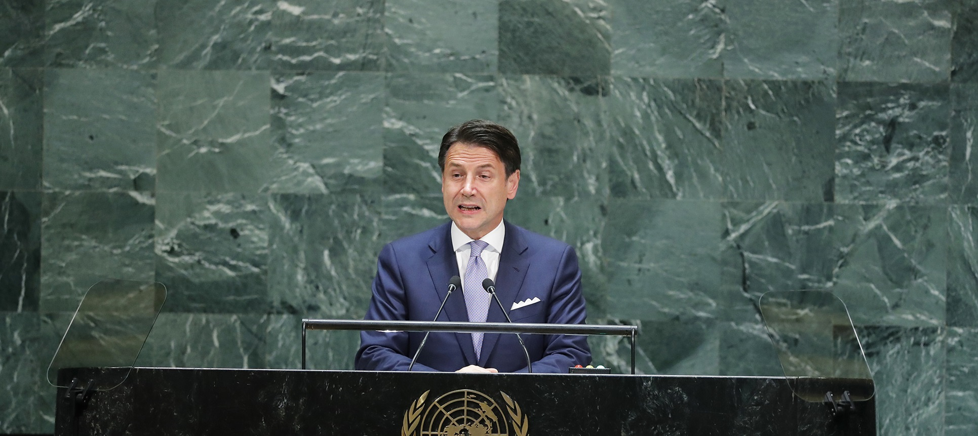 Prime Minister Conte brings Rondine to the UN General Assembly as a model for conflicts mediation