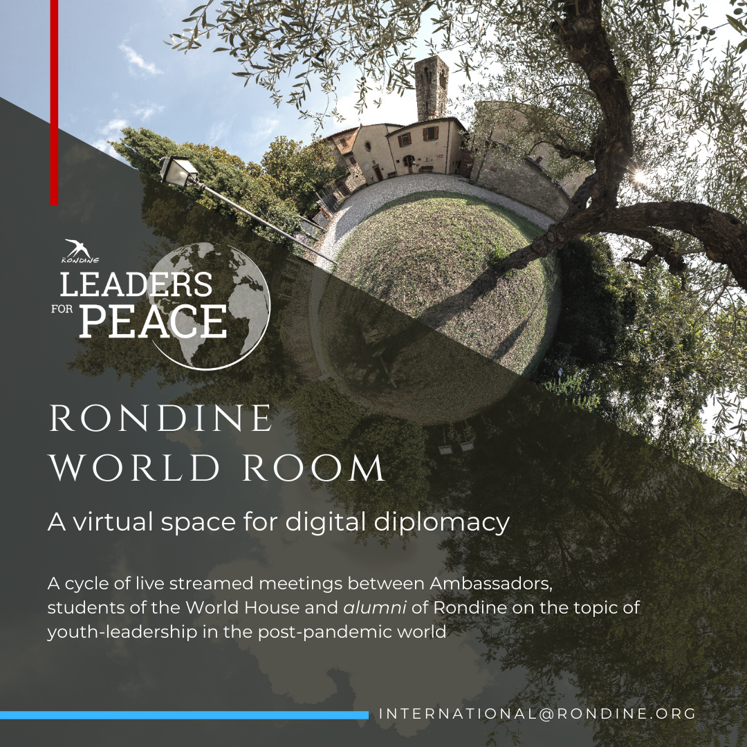 Rondine World Room. A virtual space for digital diplomacy