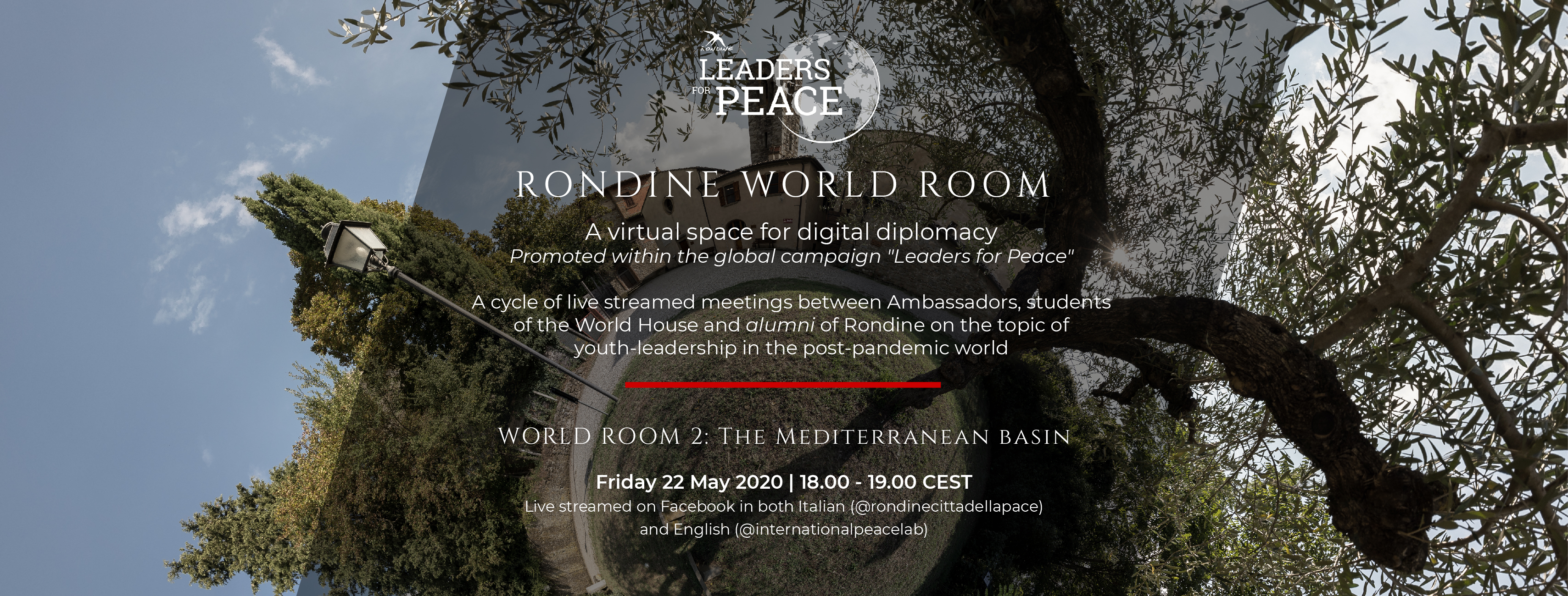 Rondine World Room, second round: a focus on the Mediterranean