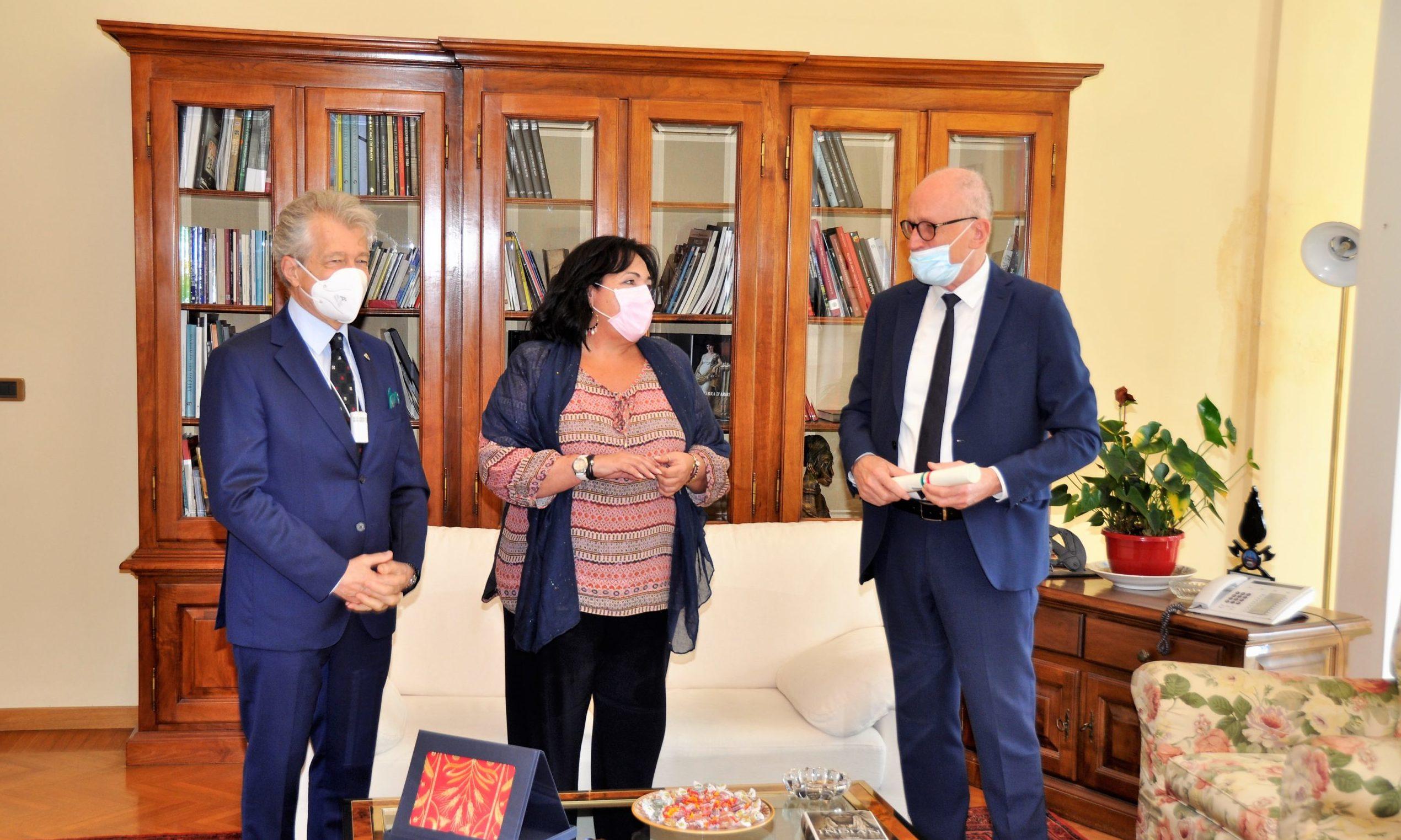 Franco Vaccari insignito dell'onorificenza di Grande Ufficiale al Merito della Repubblica Italiana