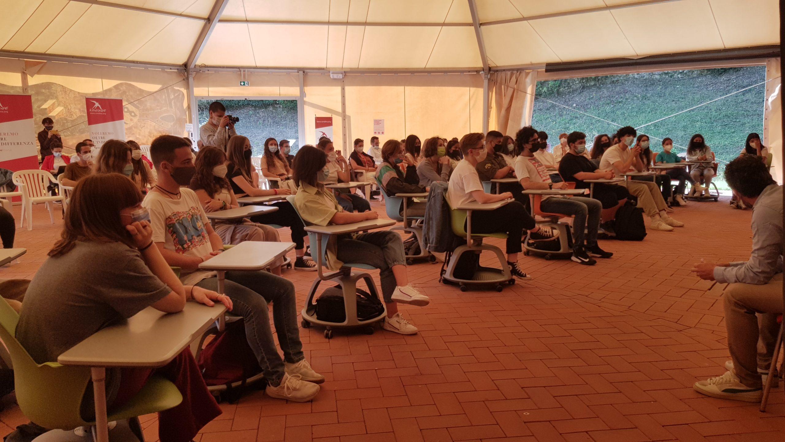 QUARTO ANNO LICEALE D'ECCELLENZA A RONDINE: AL VIA L'ANNO SCOLASTICO 2021-2022