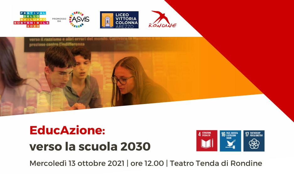 """""""EducAzione. Verso la scuola del 2030"""". A Rondine giovani a confronto sugli SDGs dell'Agenda 2030"""