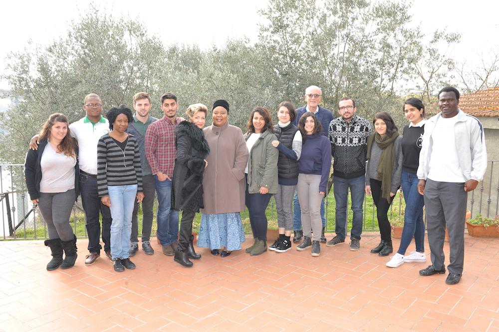 La Premio Nobel per la pace Leymah Gbowee incontra i giovani della Cittadella della Pace
