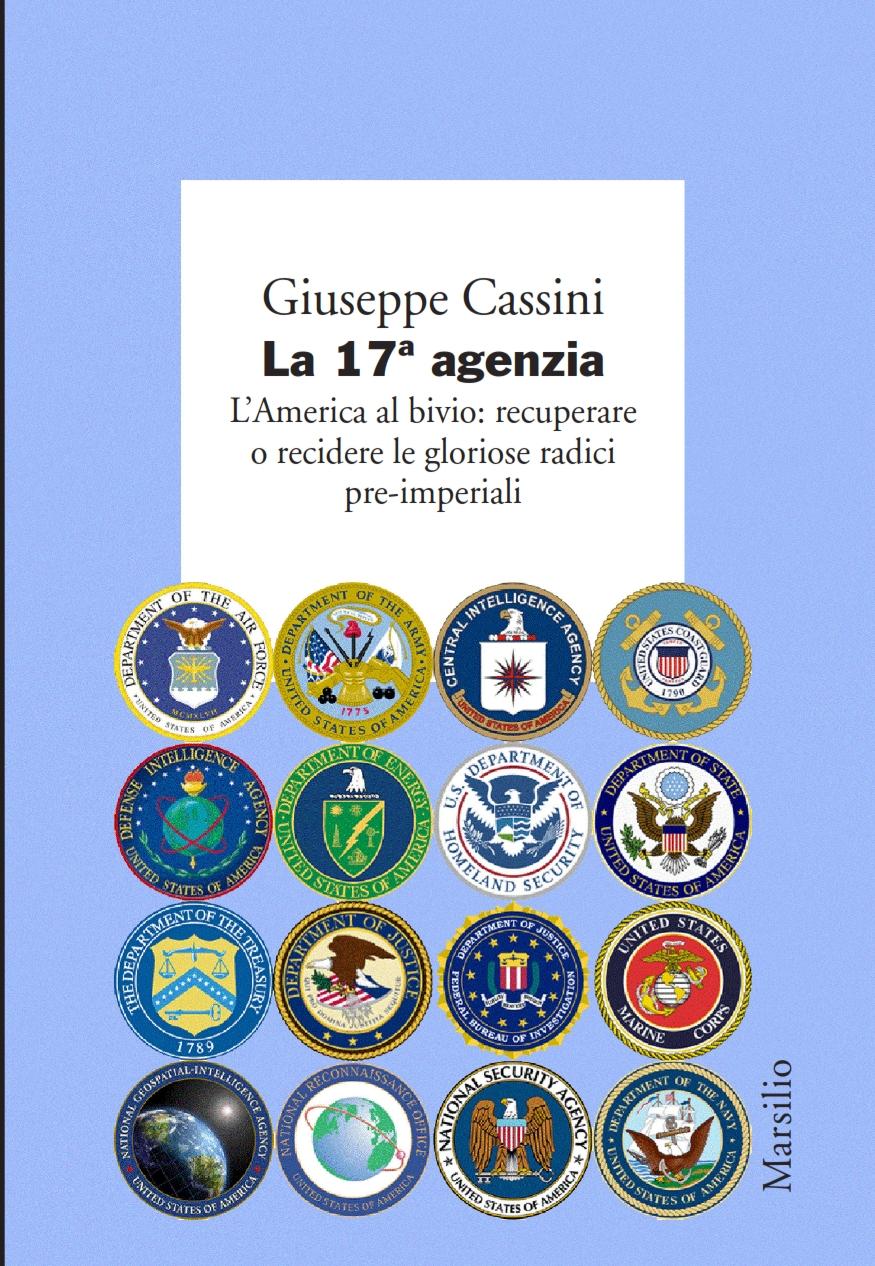 """""""La 17ª agenzia"""". Presentazione del libro di Giuseppe Cassini"""