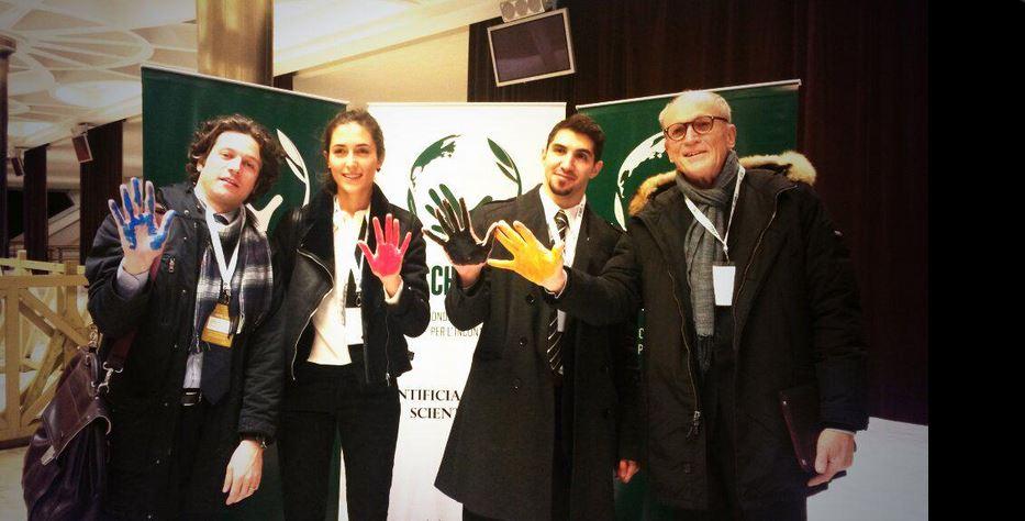 """""""Vivere con il nemico"""". L'esperienza di Rondine al IV congresso di Scholas Occurrentes in Vaticano"""