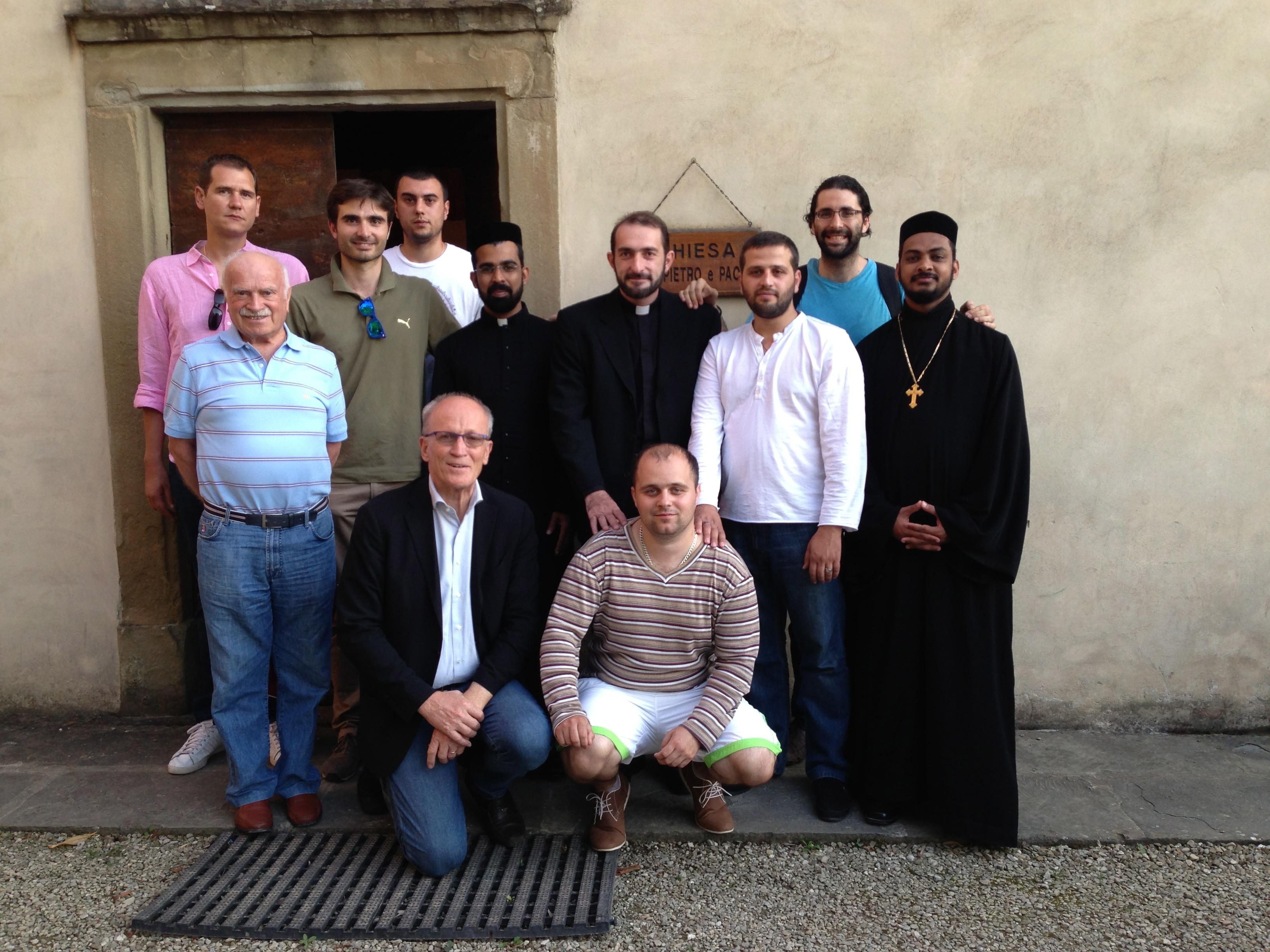 Una preghiera  ecumenica a Rondine insieme al Comitè