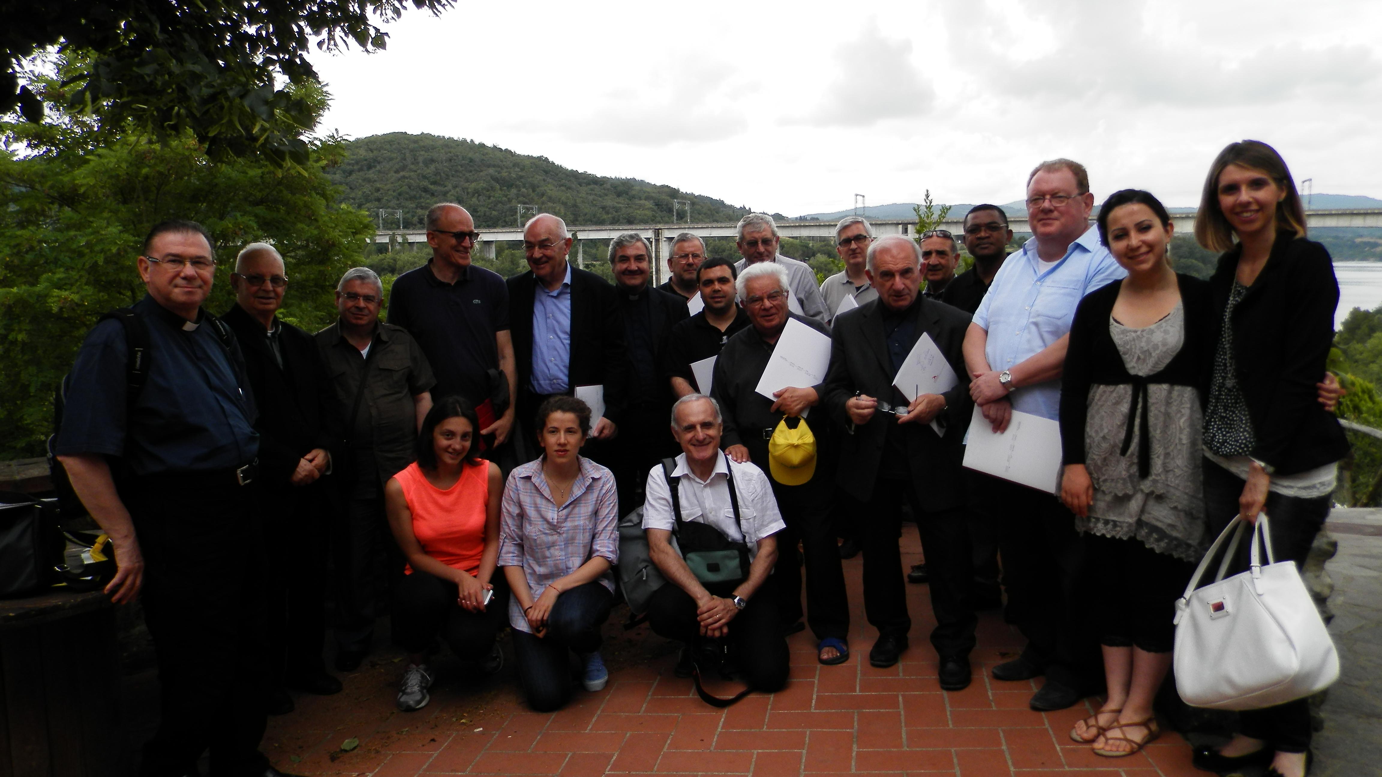 I Consiglieri Ecclesiastici di Coldiretti in visita a Rondine
