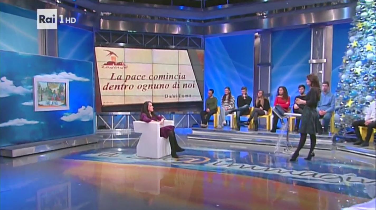 """Rondine su Rai 1 per l'augurio di un anno di pace. Il servizio della trasmissione """"A Sua Immagine"""""""