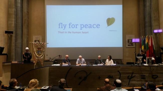 """""""Quando il mio nemico diventa un amico"""". Franco Vaccari e l'esperienza di Rondine a Fly for Peace"""