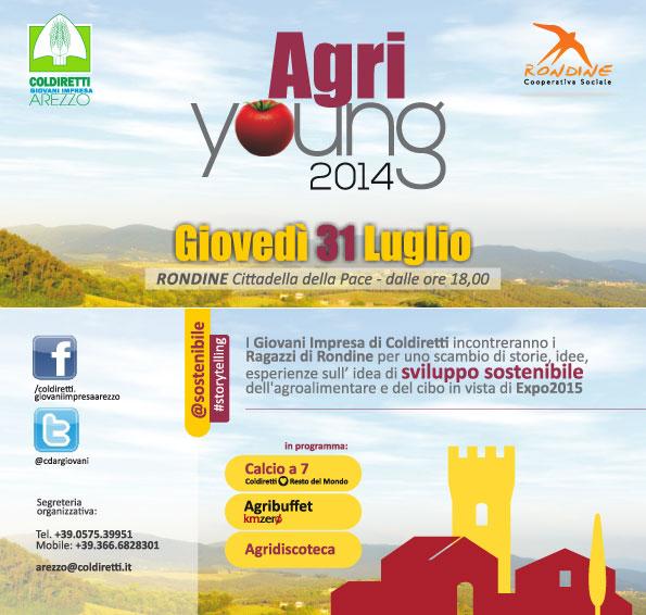 A Rondine Agri Young 2014 l'evento estivo di Coldiretti Arezzo
