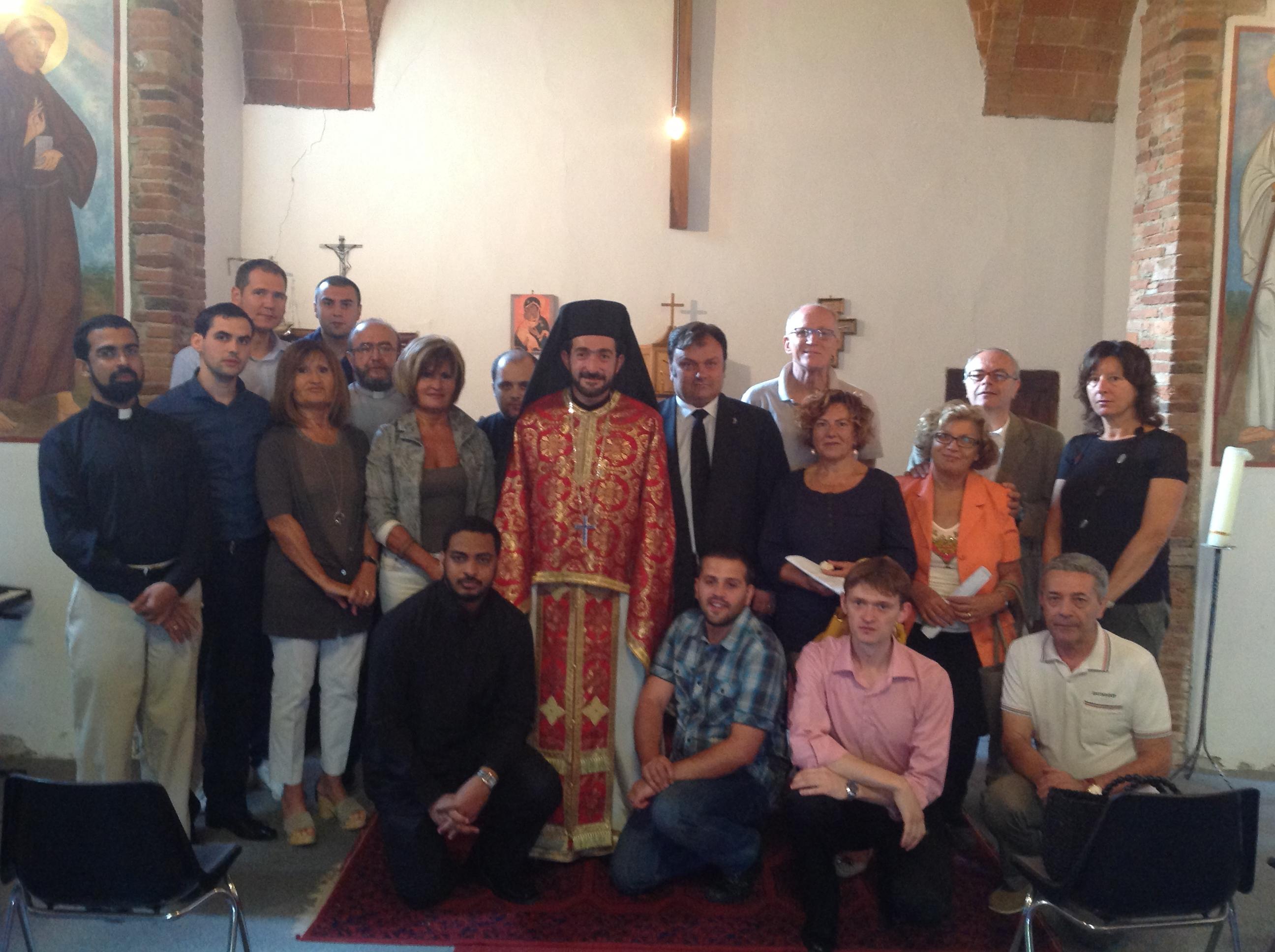 Insieme nella preghiera. A Rondine la celebrazione dell'Assunzione secondo il calendario ortodosso