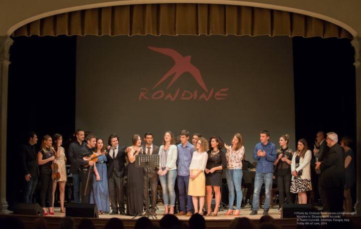 """Anche Rondine vola in Sicilia per Fly for Peace con """"Dissonanze in Accordo"""""""