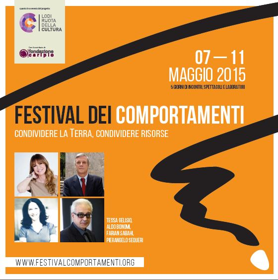"""""""Terra Condivisa"""". Rondine ospite al Festival dei Comportamenti di Lodi"""