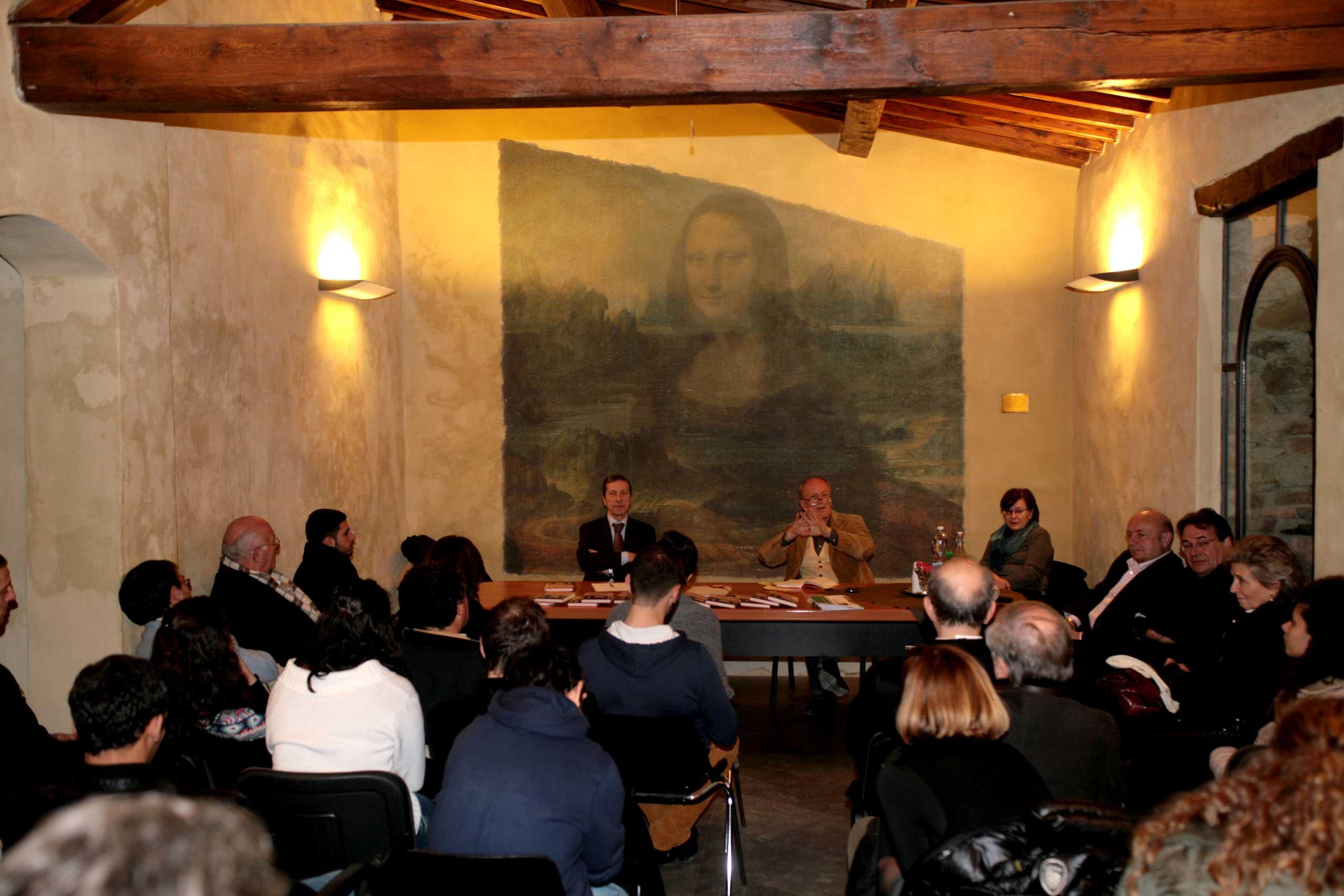 Turiddo Campaini ha presentato il suo libro a Rondine