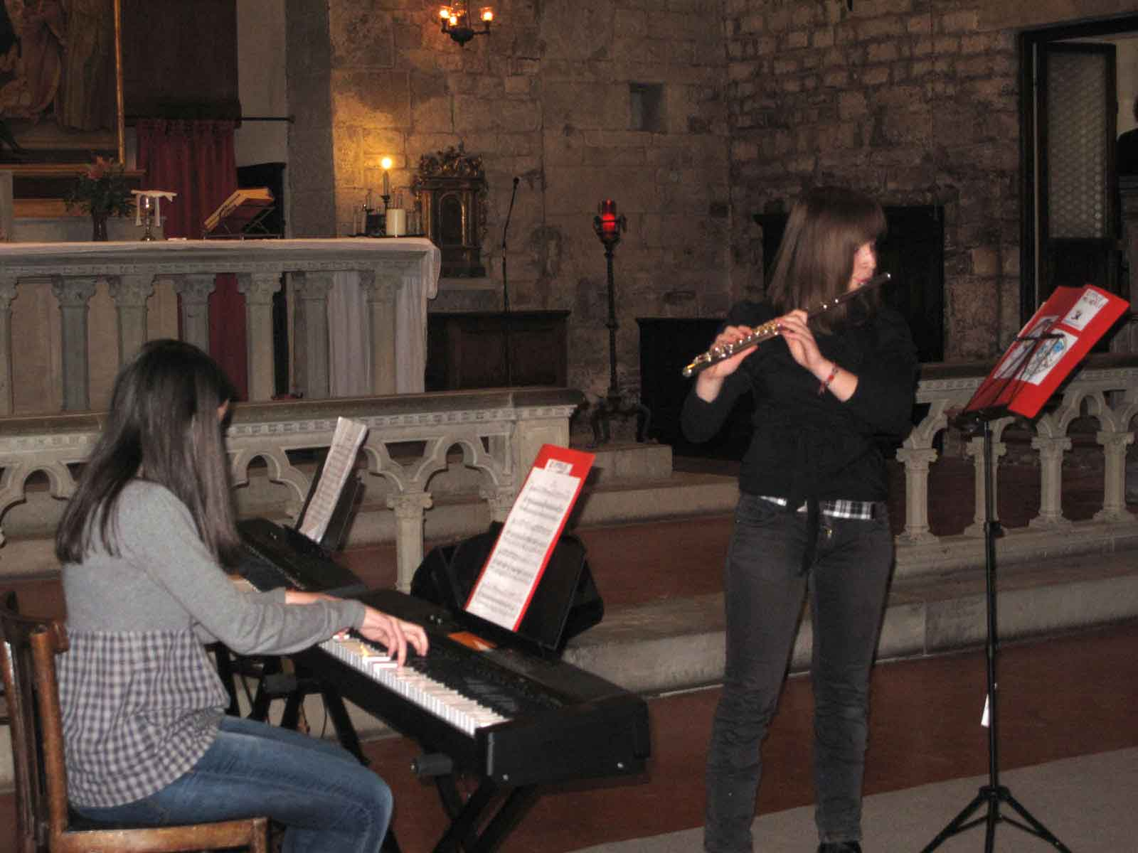 "Sabato 10 dicembre performance finale Campus ""Musica Insieme"""