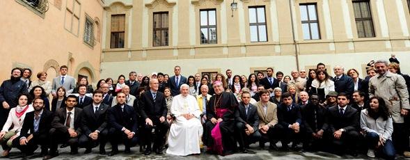 Ringraziamenti per la visita del Santo Padre