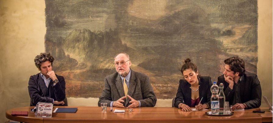 """""""Scaffale d'Onore"""". Incontro con Riccardo Migliori"""