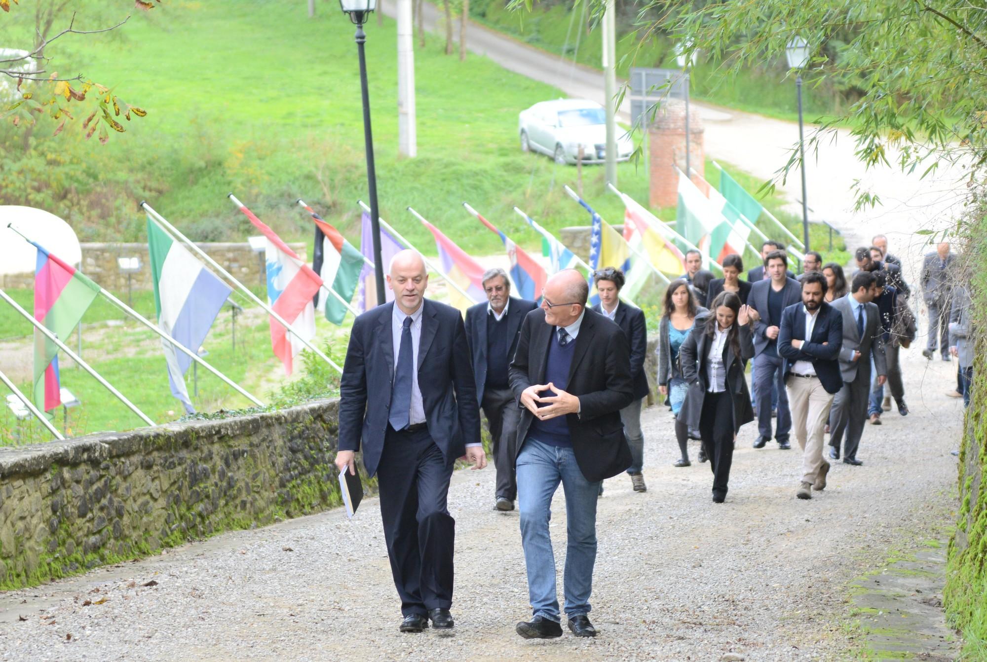 """Il Viceministro Pistelli a Rondine: """"Investiamo nei giovani per il futuro della Sponda sud del Mediterraneo"""""""