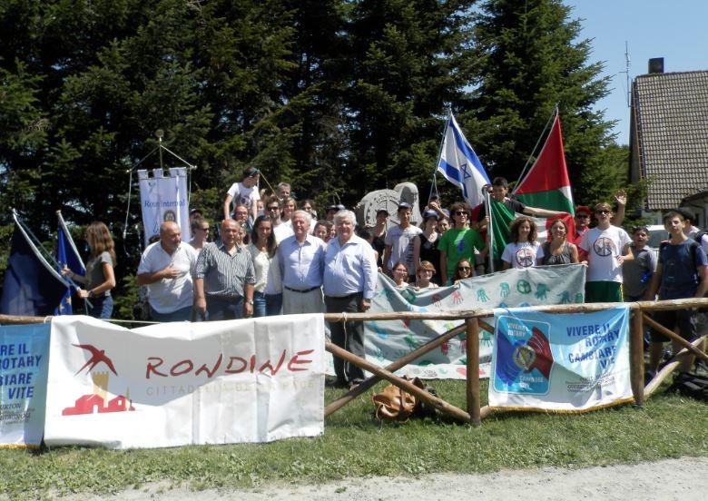 Rondine e Rotary insieme per la pace